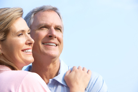couple-relieved-that-whether-they-need-to-replace-one-or-two-teeth-or-theyre-looking-into-a-hybrid-implant-supported-denture-dental-implant-solutionz-in-largo-can-help